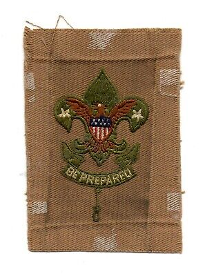 Boy Scouts of America Scoutmaster Insignia - 1911-1920 Type 1