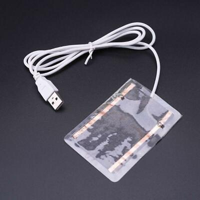 5V Portable USB Heating Heater Winter Warm Plate For Shoes Gloves Mouse f
