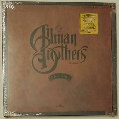 The Allman Brothers Band DREAMS 4 CD Box 1989 Polydor NEW/w Hype Sticker/SEALED