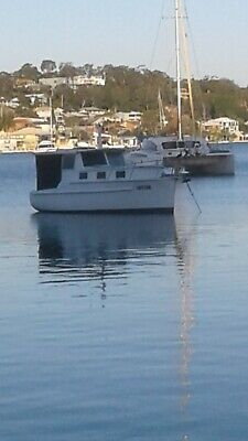 Boat 26 ft timber cruiser