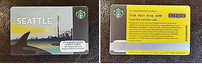 Seattle 2015 Starbucks Limited Edition Collectible Gift Card
