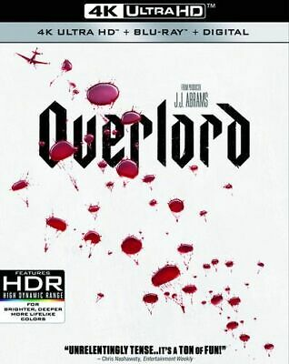 Overlord New 4K Bluray