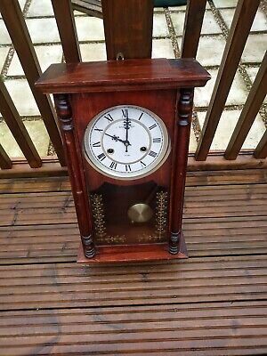 Vintage Wall Clock 31 Day C.WOOD & SON