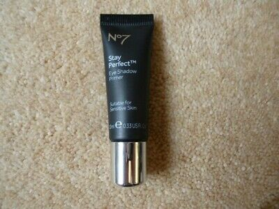 BOOTS No7 STAY PERFECT EYE SHADOW PRIMER FOR SENSITIVE SKIN 10ML FREEPOST
