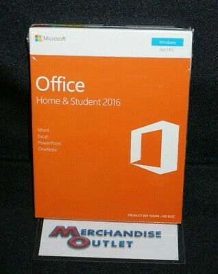 Microsoft - Office Home & Student 2016 (For Windows)