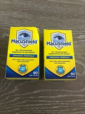 2 X 90 Macushield Eye Supplement Capsules 6 Months Supply