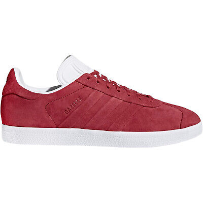 adidas Originals Mens Gazelle Stitch And Turn Suede Low Rise Trainers - 13