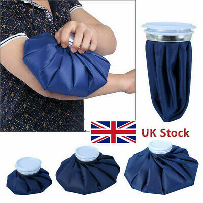 Reusable First Aid Ice Bag Knee Head Leg Pain Relief Heat Pack Sports Injury UK