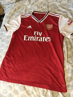 Arsenal Home Shirt 2019/20 Large Worn Once