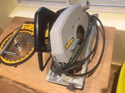 De Walt Circular Saw DW 383. 235mm. 230v. Excellent condition