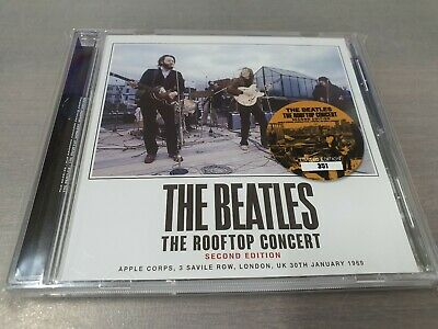 THE BEATLES - THE ROOFTOP CONCERT 1CD paul mccartney john lennon