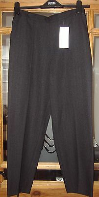 Black casual pull on trousers from Marks and Spencer size 8 new
