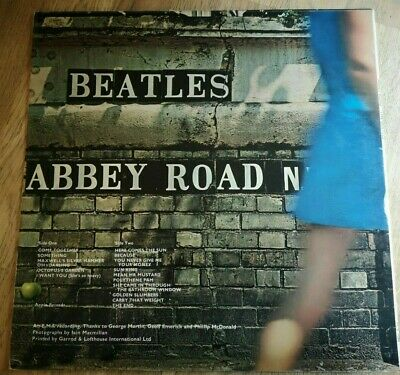 The Beatles LP Abbey Road UK Apple 1st press -2 -1 Misaligned apple ))))