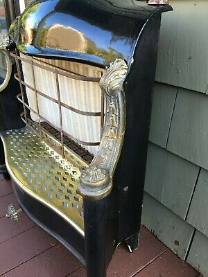Vintage Humphrey Radiant Fire Antique Gas Heater Stove Old