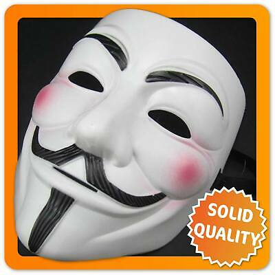 Guy Fawkes Maske V wie Vendetta Mask ACTA Occupy Anonymous Cosplay Halloween
