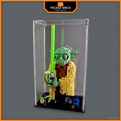 Display case for LEGO Star Wars: Yoda (75255)