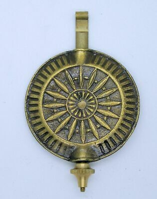 New Seth Thomas Style Sunburst Adjustable Clock Pendulum