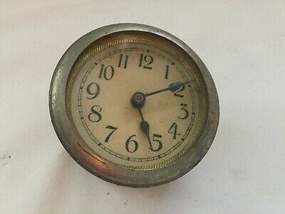 "VINTAGE MANTEL CLOCK MOVEMENT 58mm ""SPARES OR REPAIRS"""