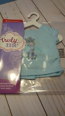 American Girl Truly Me Mix /& Match Sea Breeze Top Shirt for 18-inch Dolls New