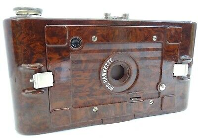 VINTAGE KODAK HAWKETTE No.2 FOLDING CAMERA BROWN BAKELITE