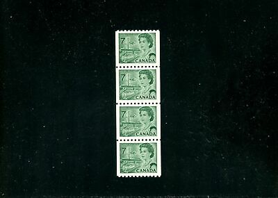 Lot 80062  Mint Nh  549   Coil Strip Of 4 : Canada Centennial Issue