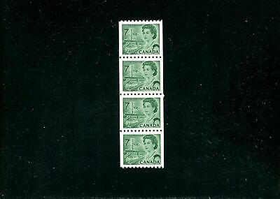 Lot 80061  Mint Nh 549   Coil Strip Of 4 : Canada Centennial Issue