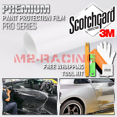 *Genuine 3M Scotchgard Pro Series Gloss Glossy Clear Paint Protection Film Bra
