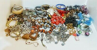 Large Job Lot Bundle of Mixed Modern & Vintage Jewellery - Approx 2kg