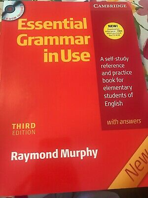Essential Grammar in Use Book Basic Cambridge Answers Cd rom By Raymond Murphy