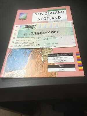 Rugby World Cup Programmes