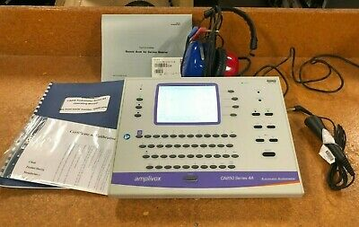 Amplivox CA850 Series 4 4A Automatic Audiometer Hearing Audiology Tester