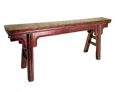 Antique Chinese Ming Bench (5100), Circa 1849-1899