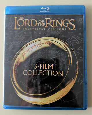 The Lord of the Rings Blu Ray  Trilogy-Sealed