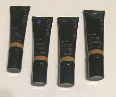 4 X Bundle Mary Kay CC Cream Sunscreen Broad Spectrum SPF 15 Deep Lot Of 4 Exp