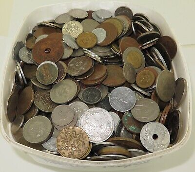 MASSIVE JOB LOT GENUINELY UNSORTED WORLD COINS, APPROX 6.4 KILO's. #17