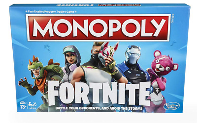 Monopoly: Amazing Fortnite Edition Board Game Inspired +13 New FREE SHIPPING USA