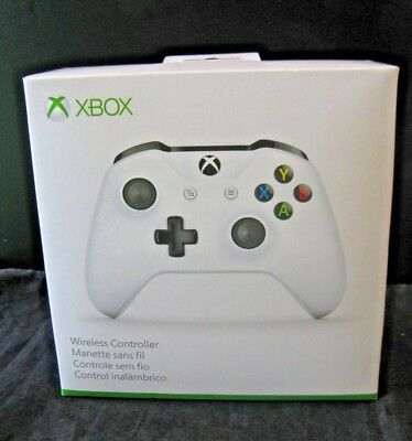 Microsoft Xbox One Wireless Controller White 1708 Brand New Sealed
