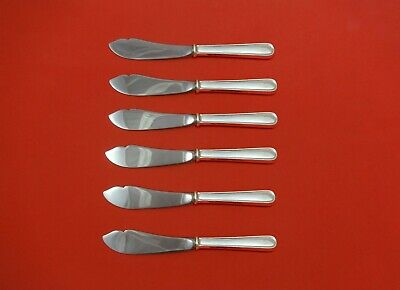 Calvert by Kirk Sterling Silver Trout Knife 6pc Set HHWS  Custom Made