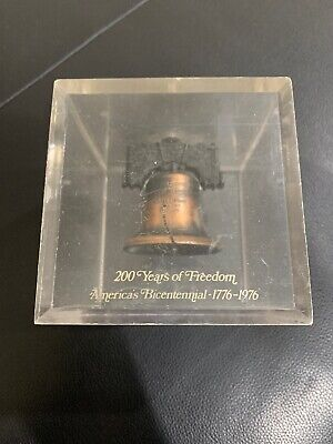 200 Years Of Freedom America's Bicentennial Liberty Bell 1776-1976 Coin Bank