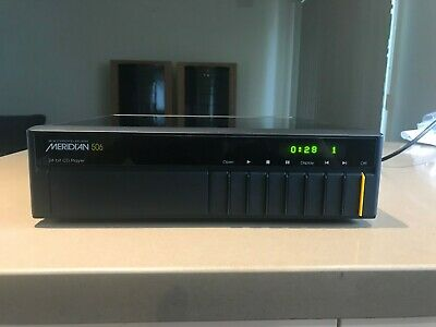 Meridian 506/24 CD Player with remote