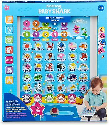 Pinkfong Baby Shark Tablet Educational Preschool Toy Child Learning Tablet Toy
