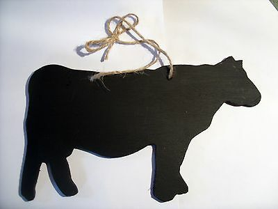 COW chalkboard plaque milk dairy sign farm animal farmyard farm cowshed calf a