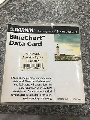 Garmin Blue Chart Data Card
