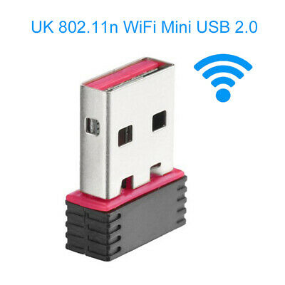 AU_ KM_ 150M Portable Mini WiFi USB 2.0 Wireless Network Card LAN Adapter for PC