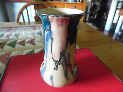 """Remued P.p.p.cylinder Vase Early Series Shape 60/5"""""""