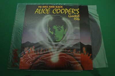 To Hell and Back, Alice Coopers Greatest hits. Hard Rock,  1985 Vinyl LP Record.