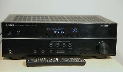 Yamaha RX-V373 Home theater receiver / Amp with 3D-ready HDMI