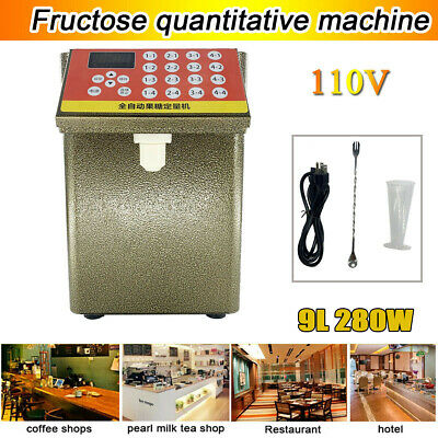 110V Fructose Quantitative Machine 280W Fructose Dispenser Milk Tea Soft Drink