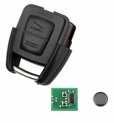 FOR VAUXHALL OPEL ASTRA G ZAFIRA 2 BUTTON REMOTE KEY FOB CIRCUIT BOARD 433MHz
