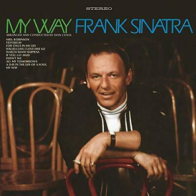 My Way 50th Anniversay Edition Frank Sinatra Mrs.Robinson If You Go Away AudioCD